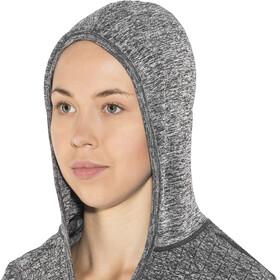 Craft Smooth Hood Women Black Melange